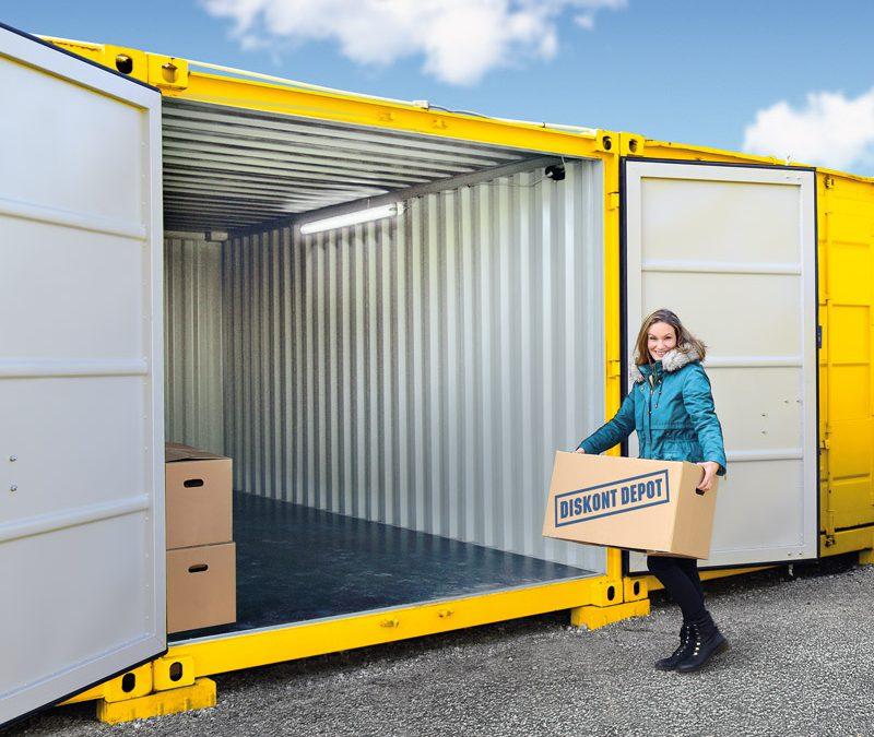 Levné a efektivní skladování pro každého? Skladovací kontejnery